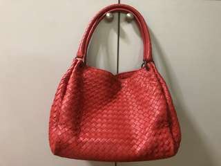 Bottega Veneta BV New Red Parachute