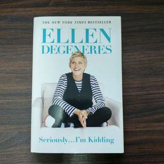 Seriously...I'm Kidding (Paperback) By Ellen DeGeneres