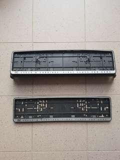 Mitsubishi glx car plate holder