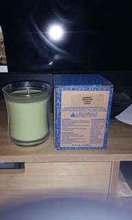 Partylite glass jar candle