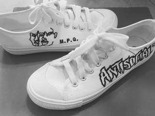 MPQ Antisocial Canvas Shoes