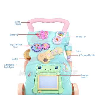 NEW BABY WALKER WITH EDUCATION AND MUSICAL TOYS#midmay75