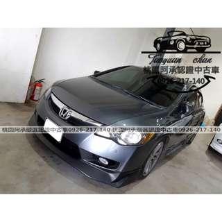 【FB搜尋桃園阿承】本田 超人氣CIVIC K12 2010年 1.8 灰色 二手車 中古車