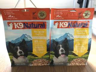 K9 Natural Freeze Dried Chicken Dog food
