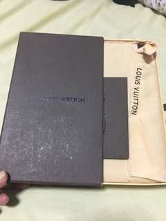 Lv Long wallet with care card