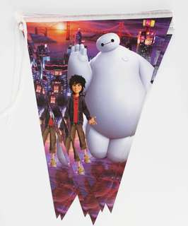 💥Baymax Big Hero 6 party supplies - banner bunting / party deco