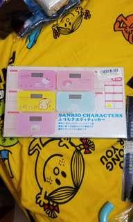 全新日本直送sanrio Little Twins star浴室磅一個