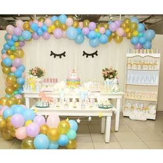 Birthday- Unicorn Theme