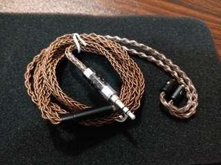 8絞mmcx手工編織耳機線(DIY)