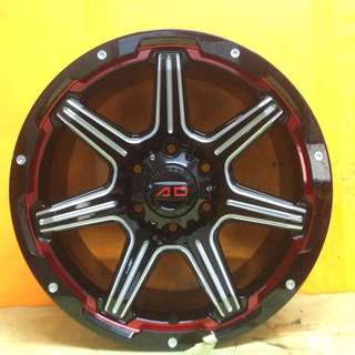 18inch SPORT RIM 4x4 ORIGINAL AD507 RACING WHEELS