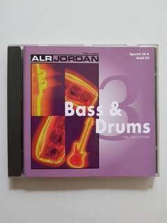 CD(SOLD) ALR Jordan - Bass & Drums The Collection