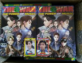 🚚 [現貨付suho小卡]EXO四輯後續The War:The power of music Korea版 power