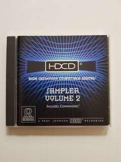CD HDCD Sampler Volume 2
