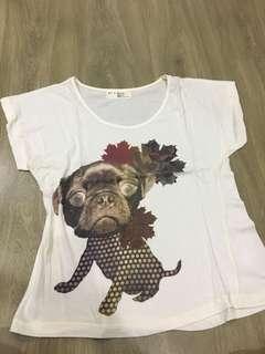 Xsml dog tshirt
