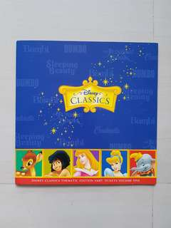Disney Classics Transitlink Cards- Thematic Edition SMRT Tickets Volume One