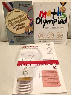 Math Olympiad & GEP for Primary