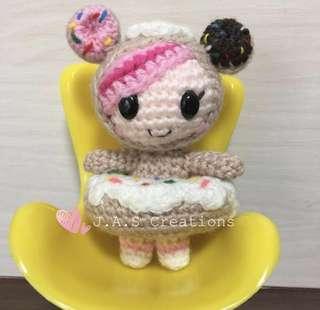 Crochet Donutella Doll