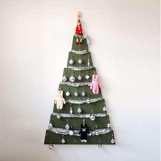 Hang On Wall Pegboard Christmas Tree