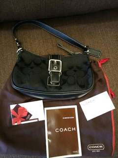 Coach Black Hand Bag