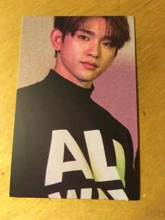 JINYONG GOT7 OFFICIAL EYES ON YOU PHOTOCARD PHOTO CARD ALBUM KPOP