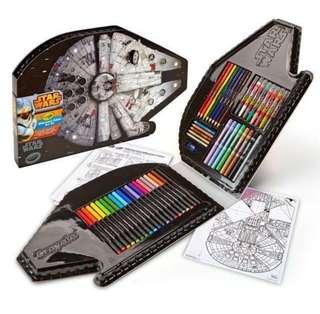 Brand New Crayola Star Wars Millennium Falcon Art Kit