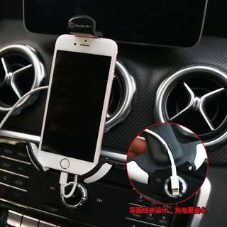 Mercedes Benz mobile hand cell Phone Holder