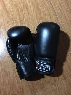 Boxing gloves (K-Sport) (used only once)