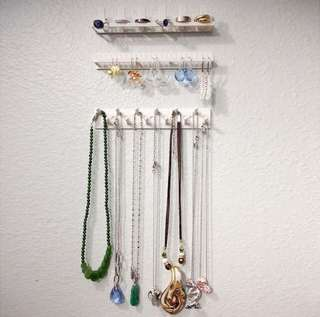 Jewelry earring organizer