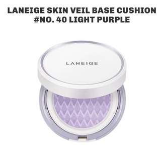 Laneige Base Cushion Light Purple