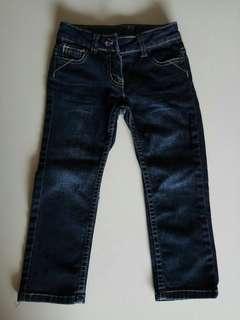 😃😃Sercent Major Lovely Girl Blue Long Jean