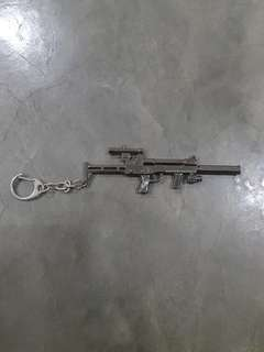 One Piece/Gun/Swedish Keychain