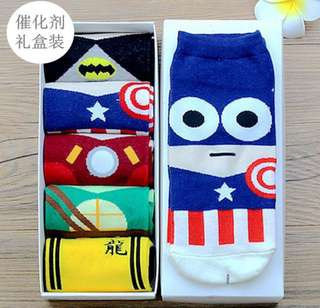[PO] Superhero Socks