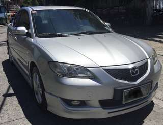2006 Mazda 3 Sedan Silver with Bodykit