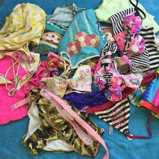 SALE Assorted and matching swim-suits BUNDLE
