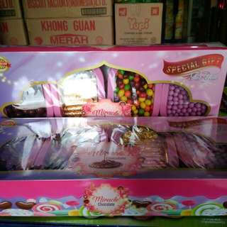 Paket luxury miracle isi 4 toples coklat
