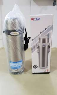 🚚 Tiger Stainless Steel Vacuum Bottle 1L