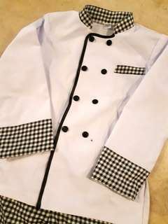 Kids Chef Cook outfit costume