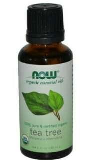 NOW Organic Tea Tree Oil, 30ml