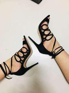 ZALORA Lace Up Heels