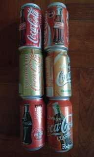 可口可樂罐(收藏品)1993-1997