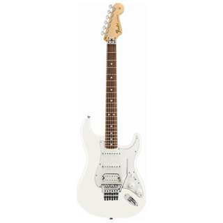 Fender Standard Stratocaster HSS Floyd Rose Electric Guitar, Rosewood FB, Arctic White, Tint
