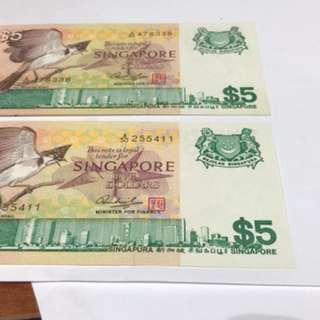 Singapore Old Notes