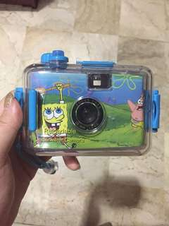 Camera roll spongebob + case waterproof