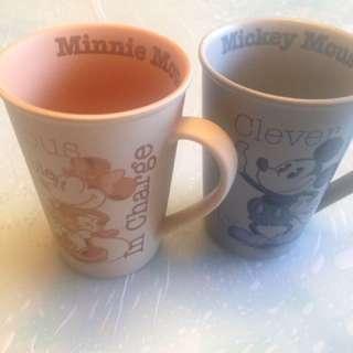 迪士尼 真品杯兩隻