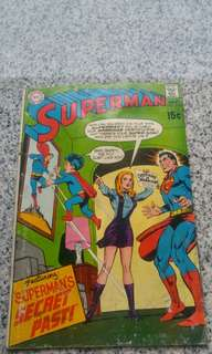 Silver Age DC Comics Superman
