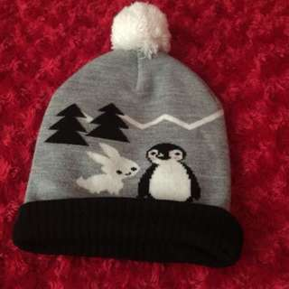 Cute Snowy Bonnet