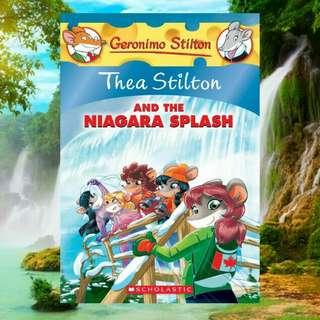 (BN) Thea Stilton #27: Thea Stilton and the Niagara Splash