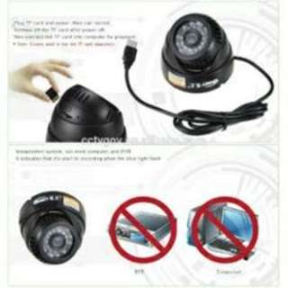 indoor Night Vision Infrared SD Card CCTV Dome Camera
