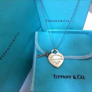 🚚 RETURN TO TIFFANY™ 心形吊飾鍊墜 可換物