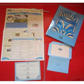 Disney's Hollywood Hotel 用品 紙品鉛筆及報紙 (2011年)